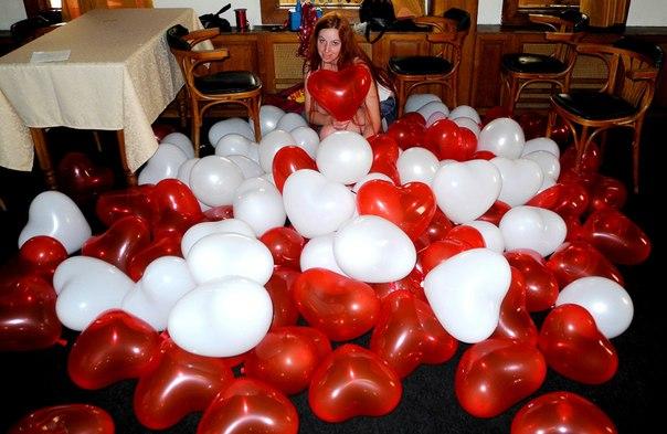 Арку из шаров своими руками фото
