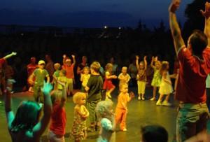 проведение детской дискотеки