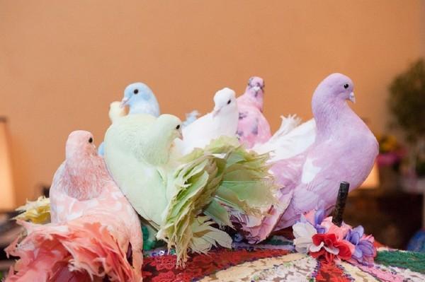 заказ голубей на свадьбу