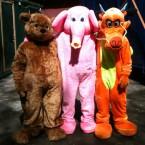 6. слон, мишка, дракон