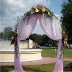 оформление цветами свадьбы
