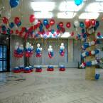 оформление воздушными шарами фото