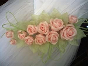 мастер класс цветы из ткани