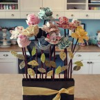 цветы из ткани дома