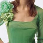 цветы украшение на платье