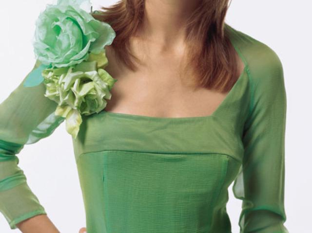 Цветы своими руками на платье