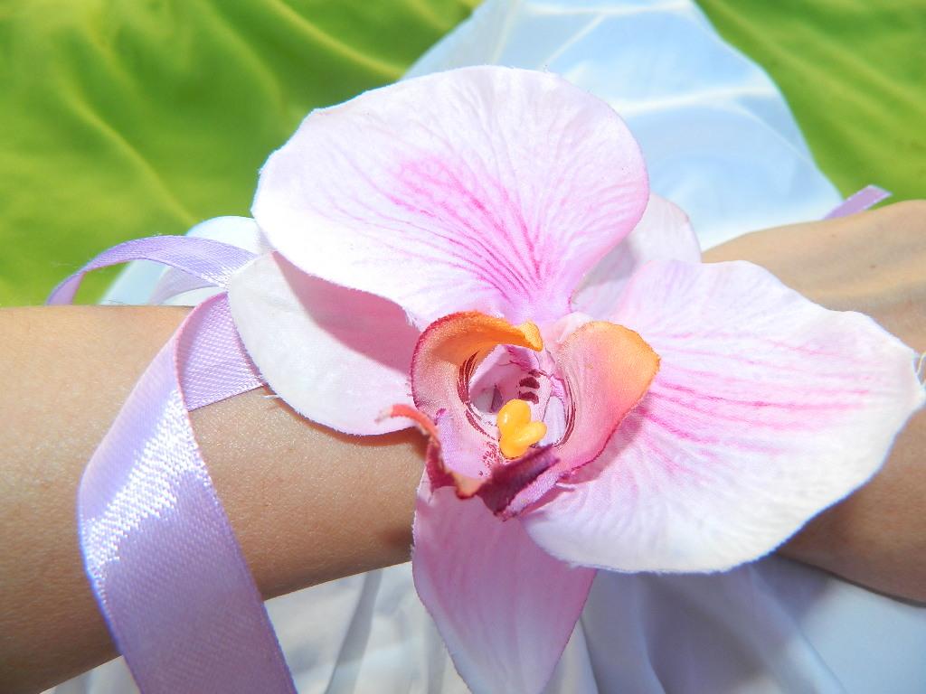 На цветы из ткани своими руками