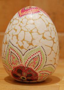Мастер класс пасхальное яйцо