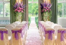 Оформление свадеб цветами и тканями