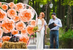 мини-пиг на свадьбу