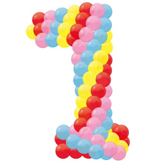 8 (985) 920 - 36- 97. Буквы и цифры из шаров