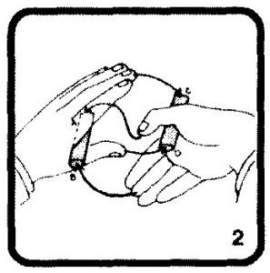 Секрет фокуса с купюрами .2