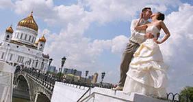 8 (985) 920 - 36- 97. Маршруты свадебных прогулок по Москве