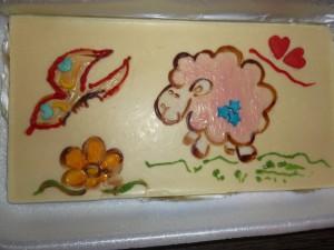 8(985) 920 – 36 – 97 мастер-класс Роспись шоколадных открыток