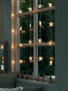 Новогодний декор окна 1