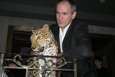 Леопард в Москве