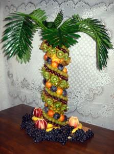 8 (985) 920 - 36- 97. Пальма из фруктов