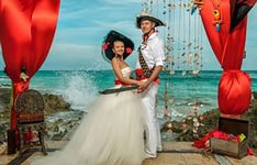 Свадьба в пиратском стиле 7