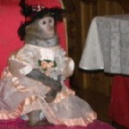 8(985)920-36-97. обезьяна на праздник
