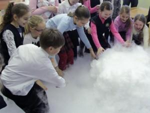 Шоу с сухим льдом для детей