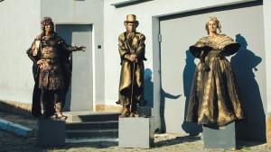 живые статуи 2